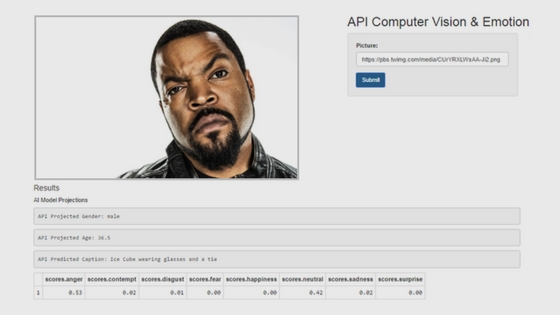 Decrypt Emotion with our Web App…and learn APIs in R - tedkwartler com